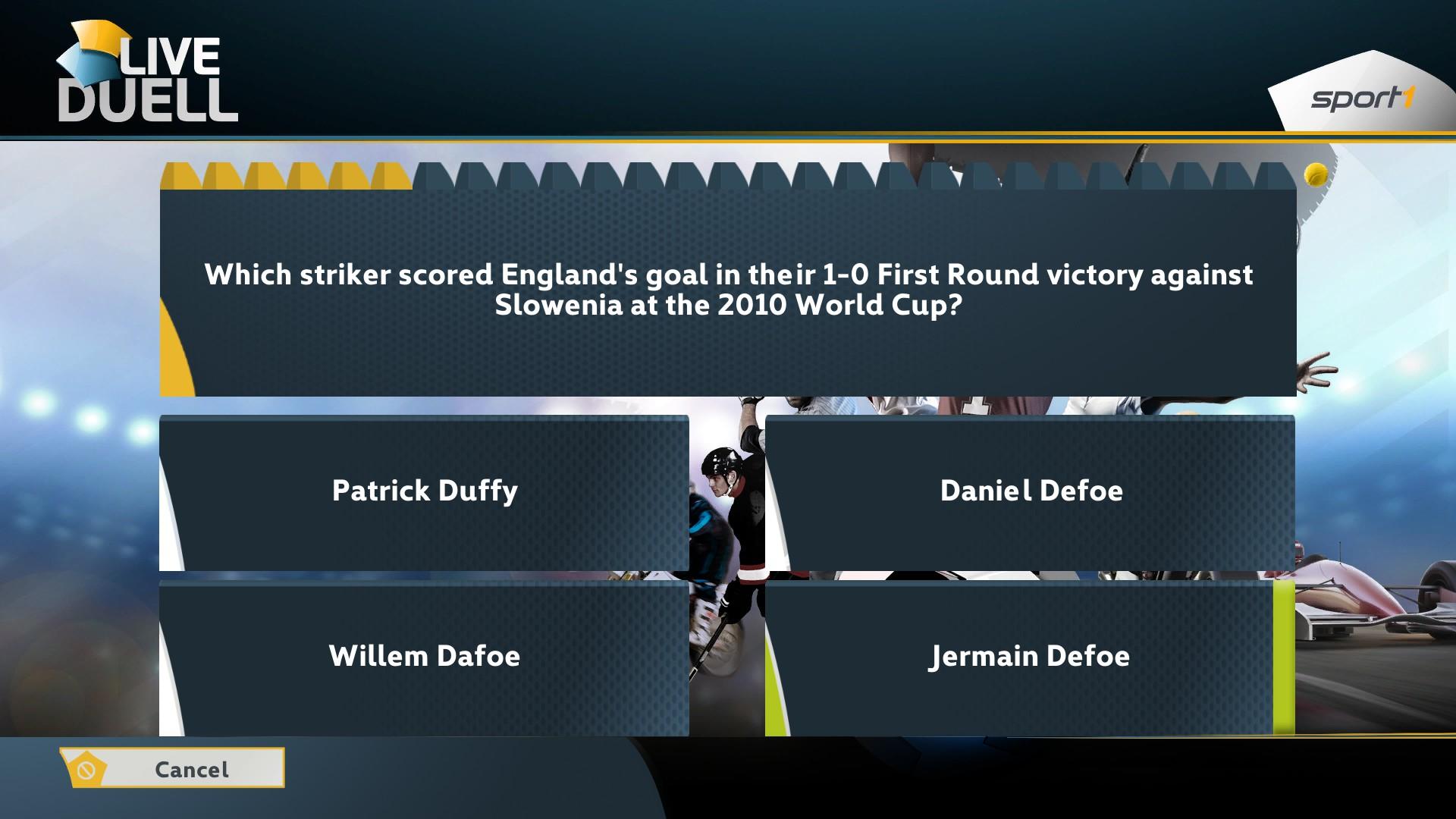 SPORT1 Live : Duel screenshot