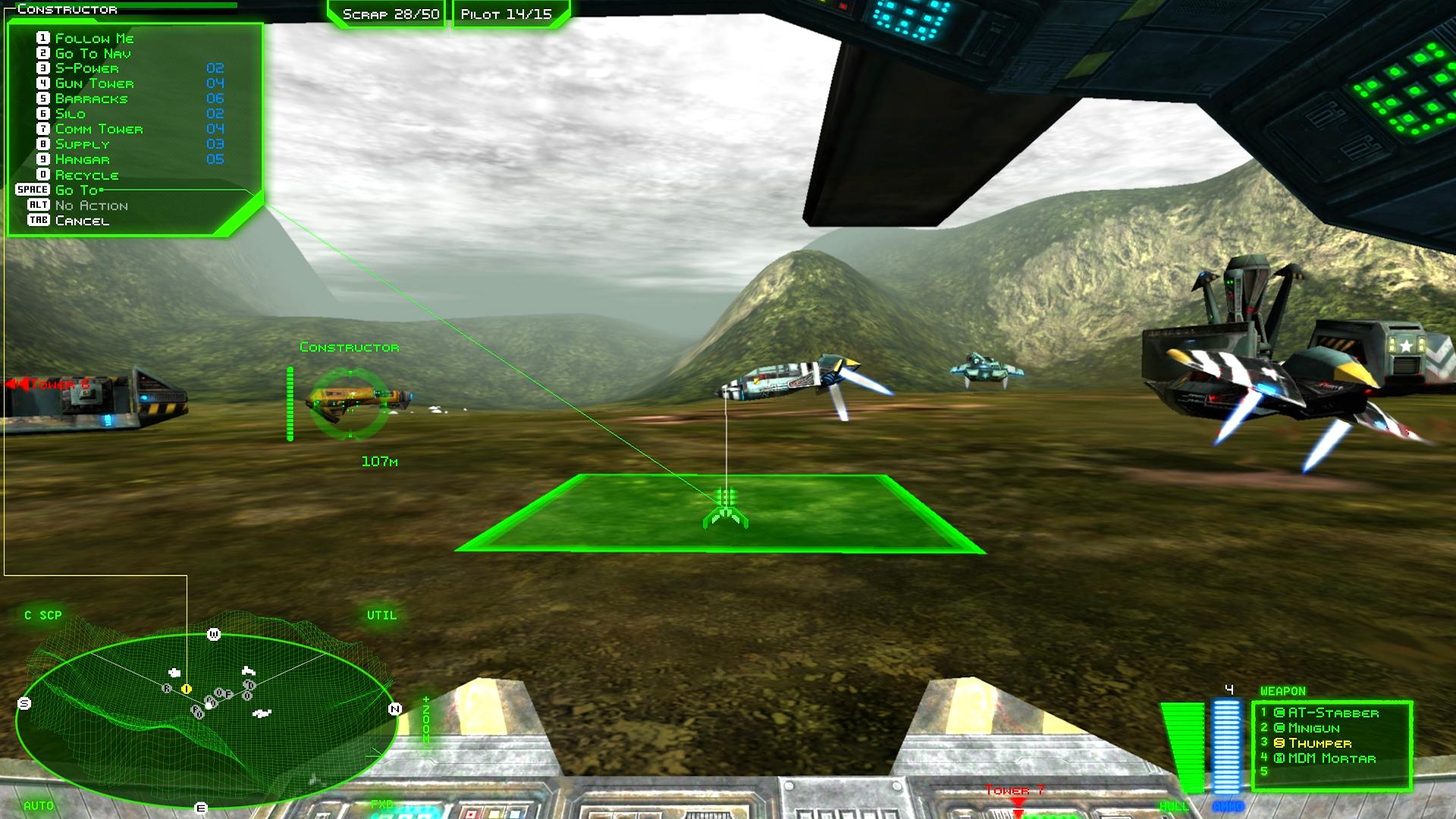 Battlezone 98 Redux Gameplay 2