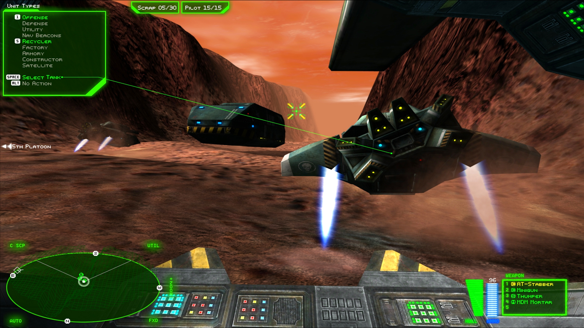 BattleZone 98 Redux screenshot 1