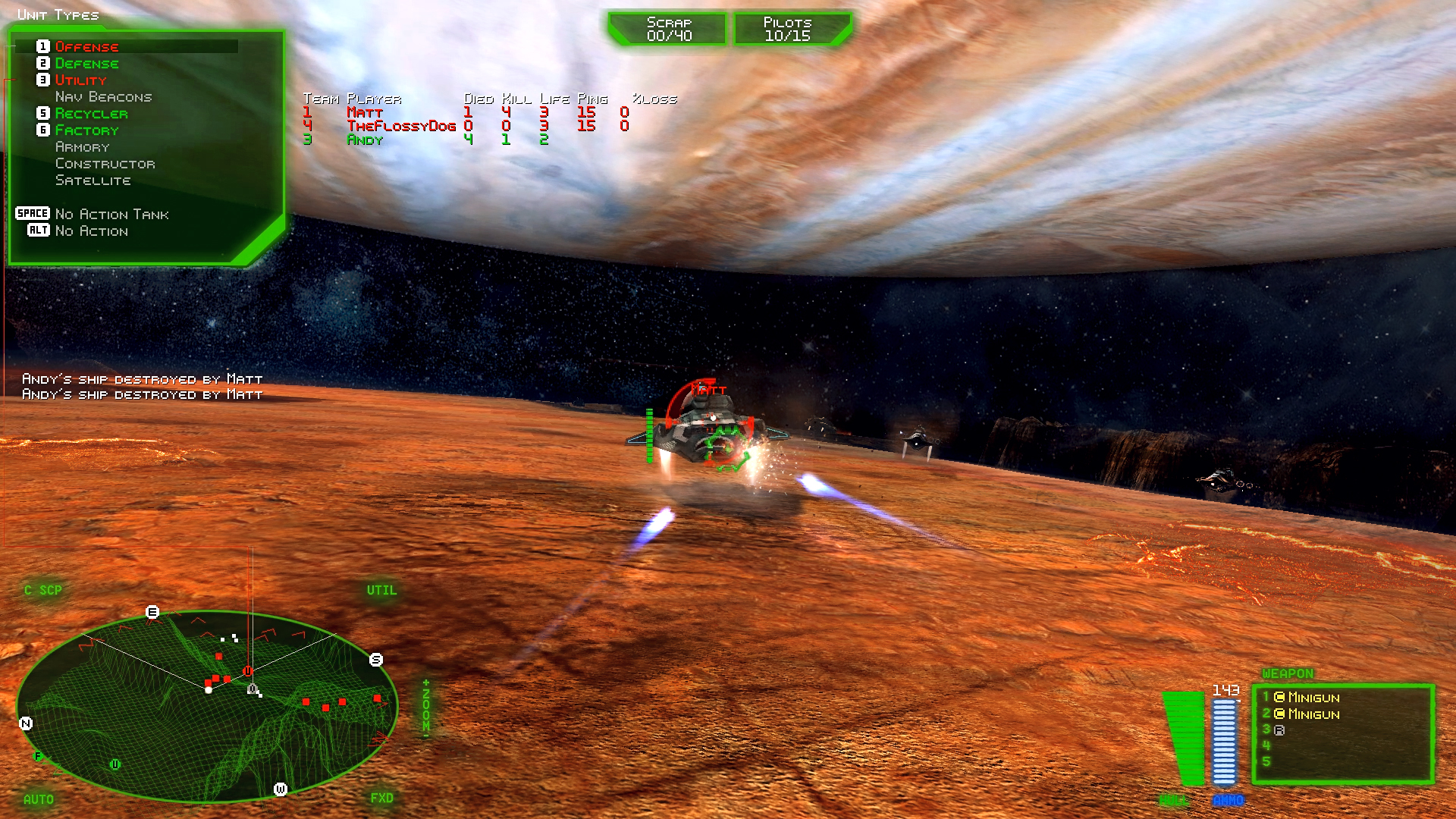 BattleZone 98 Redux screenshot 3