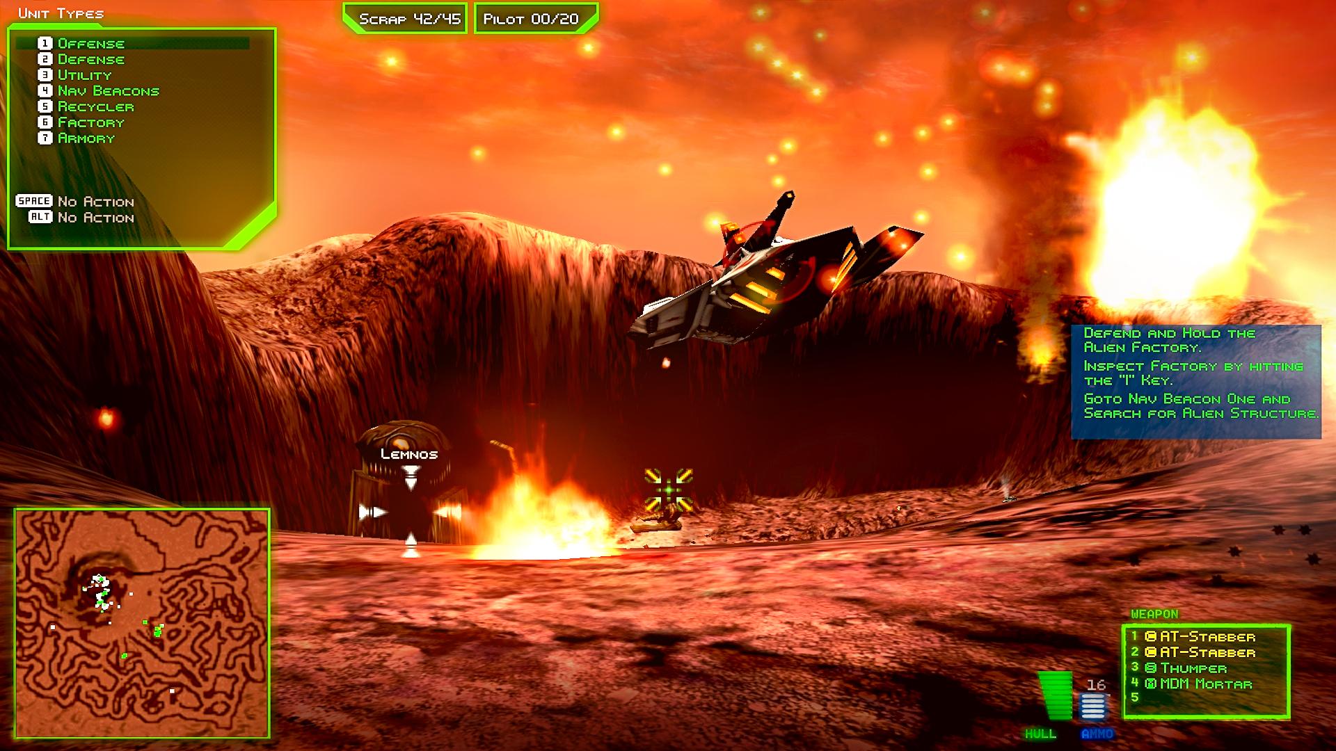 Battlezone 98 Redux Gameplay 1
