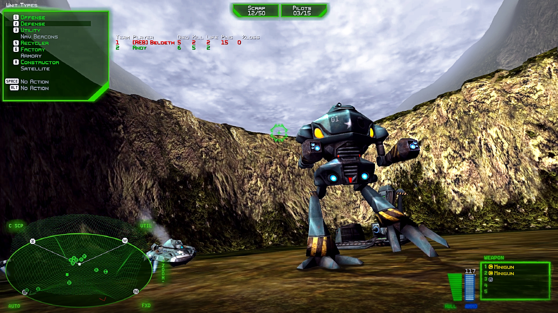BattleZone 98 Redux screenshot 2