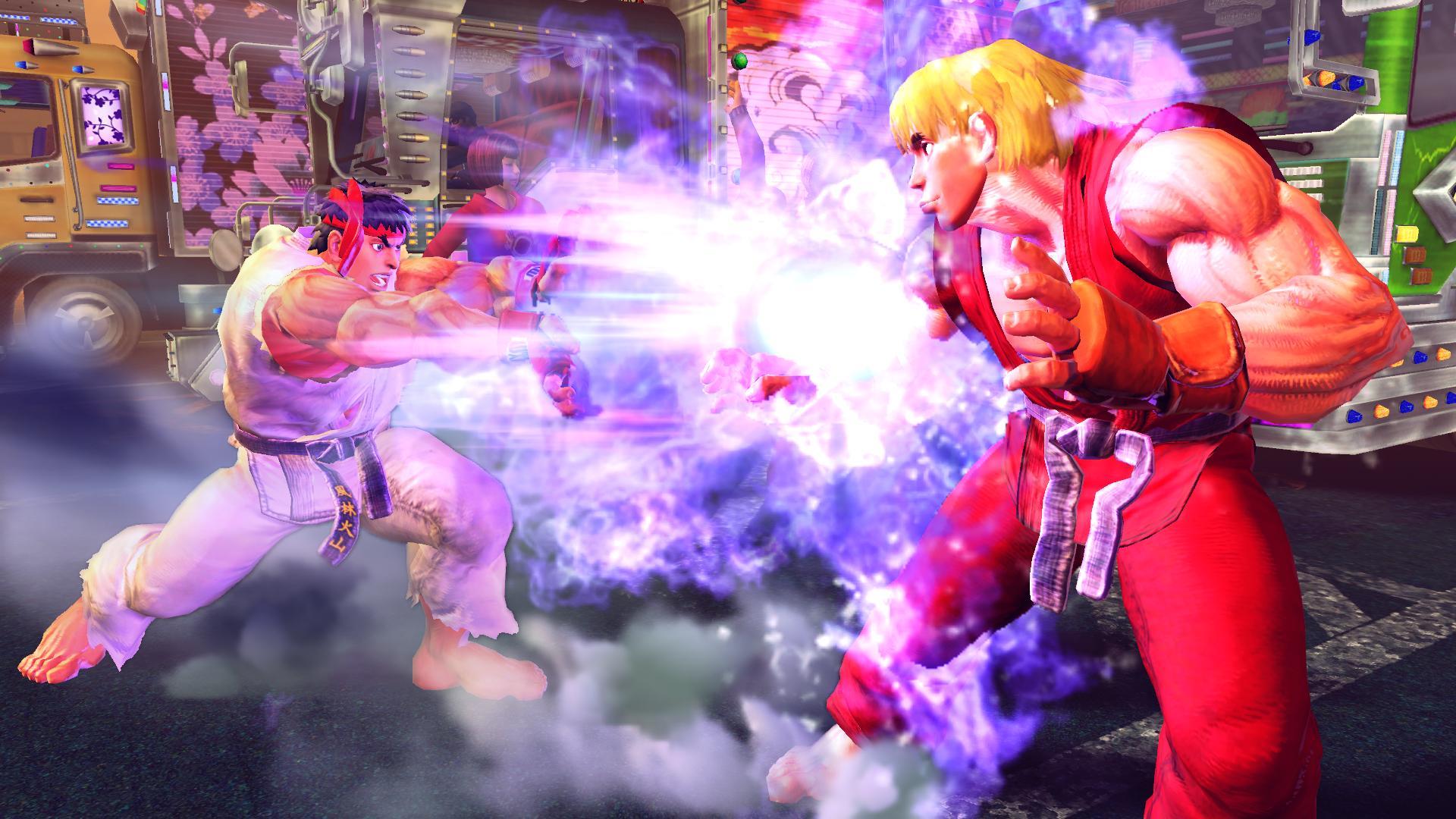 Ultra Street Fighter IV Digital Upgrade screenshot
