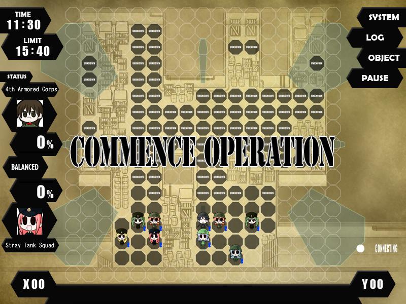 War of the Human Tanks - Limited Operations screenshot