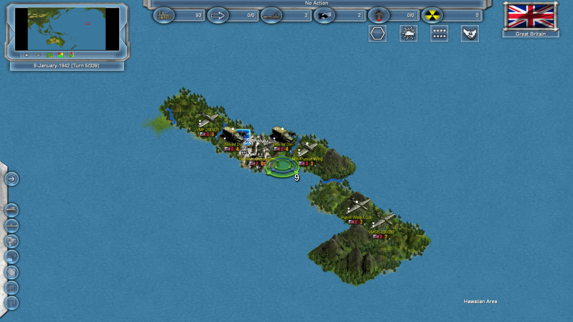 Storm over the Pacific screenshot