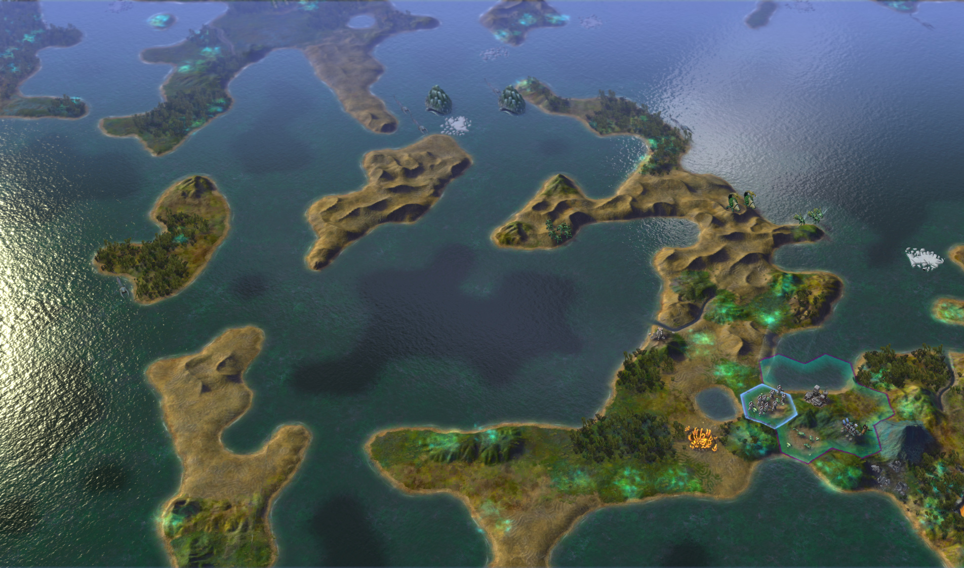 Sid Meier's Civilization: Beyond Earth Exoplanets Map Pack screenshot