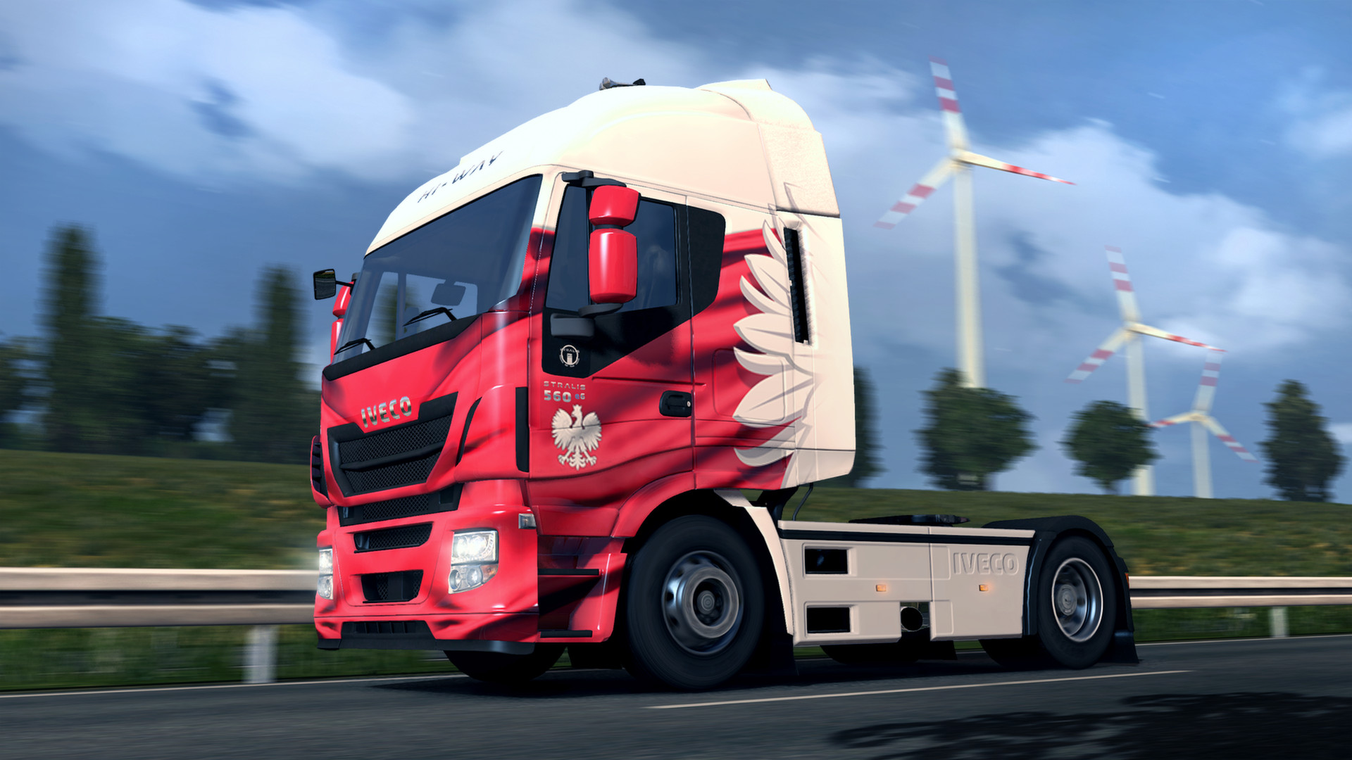 Euro Truck Simulator 2 - Polish Paint Jobs Pack screenshot