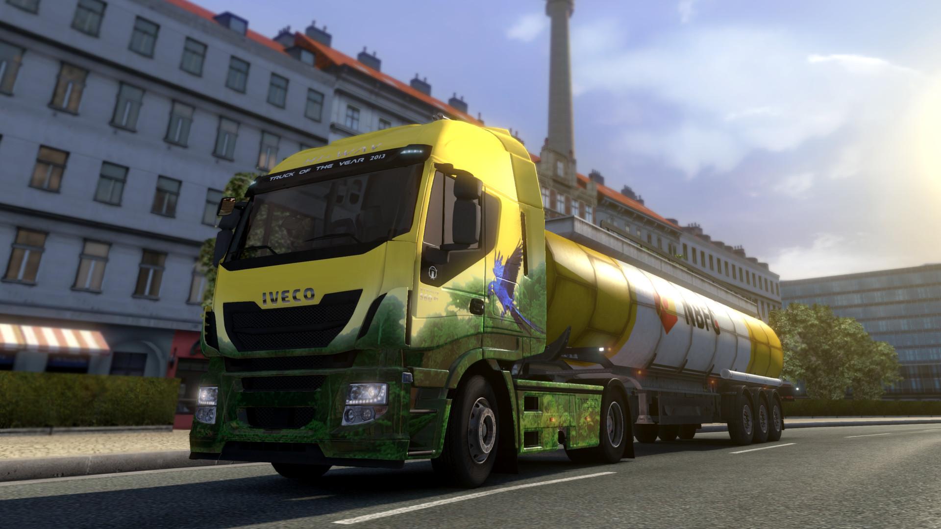 Euro Truck Simulator 2 - Brazilian Paint Jobs Pack screenshot