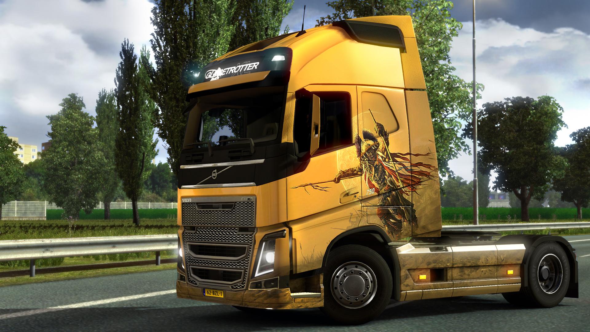 Euro Truck Simulator 2 - Fantasy Paint Jobs Pack screenshot