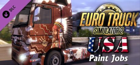 Euro Truck Simulator 2 - USA Paint Jobs Pack