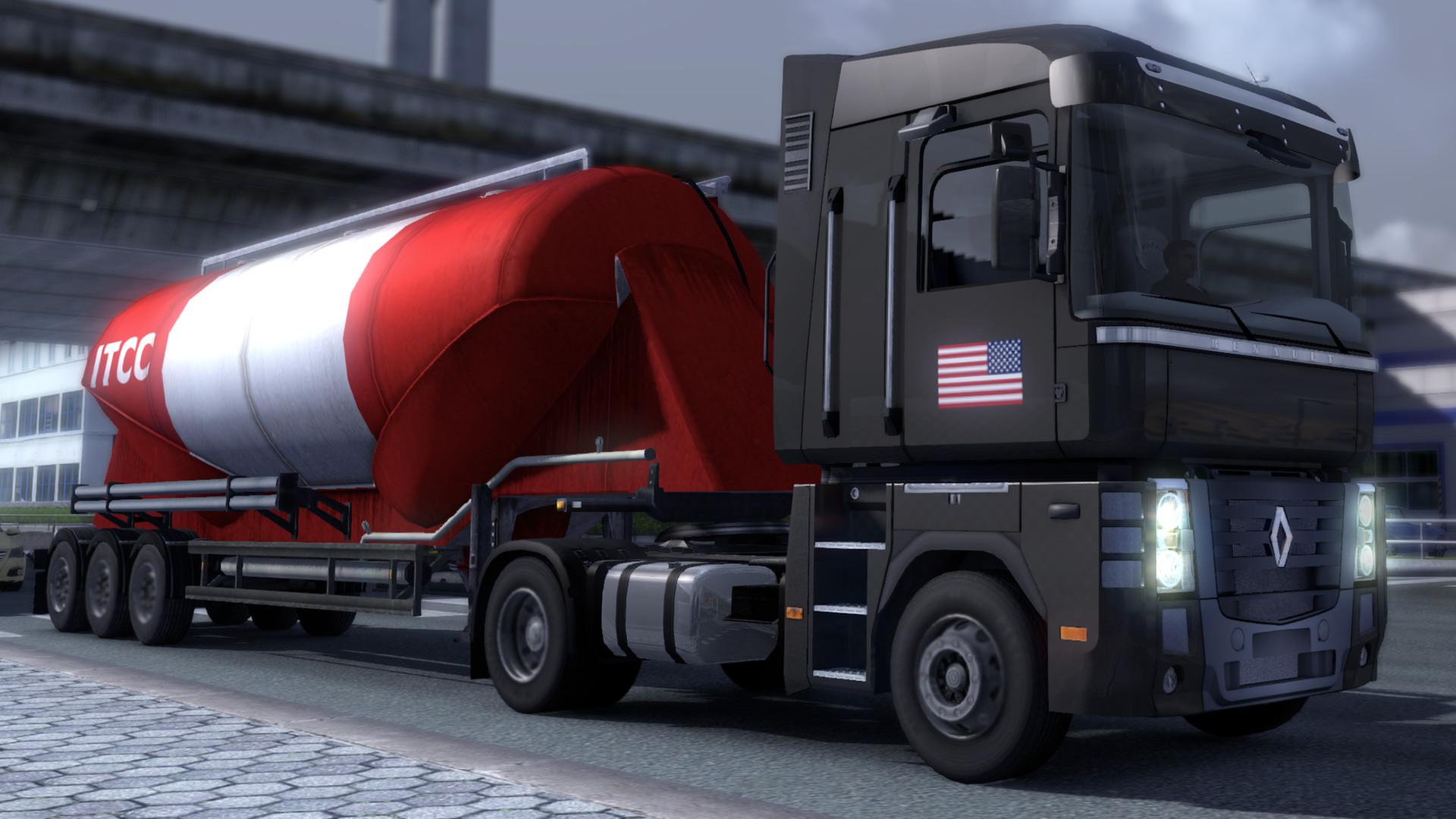 Euro Truck Simulator 2 - USA Paint Jobs Pack screenshot