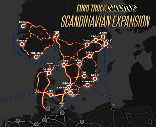 Euro Truck Simulator 2 Scandinavia On Steam