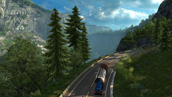 Download Euro Truck Simulator 2 Scandinavia-SKIDROW