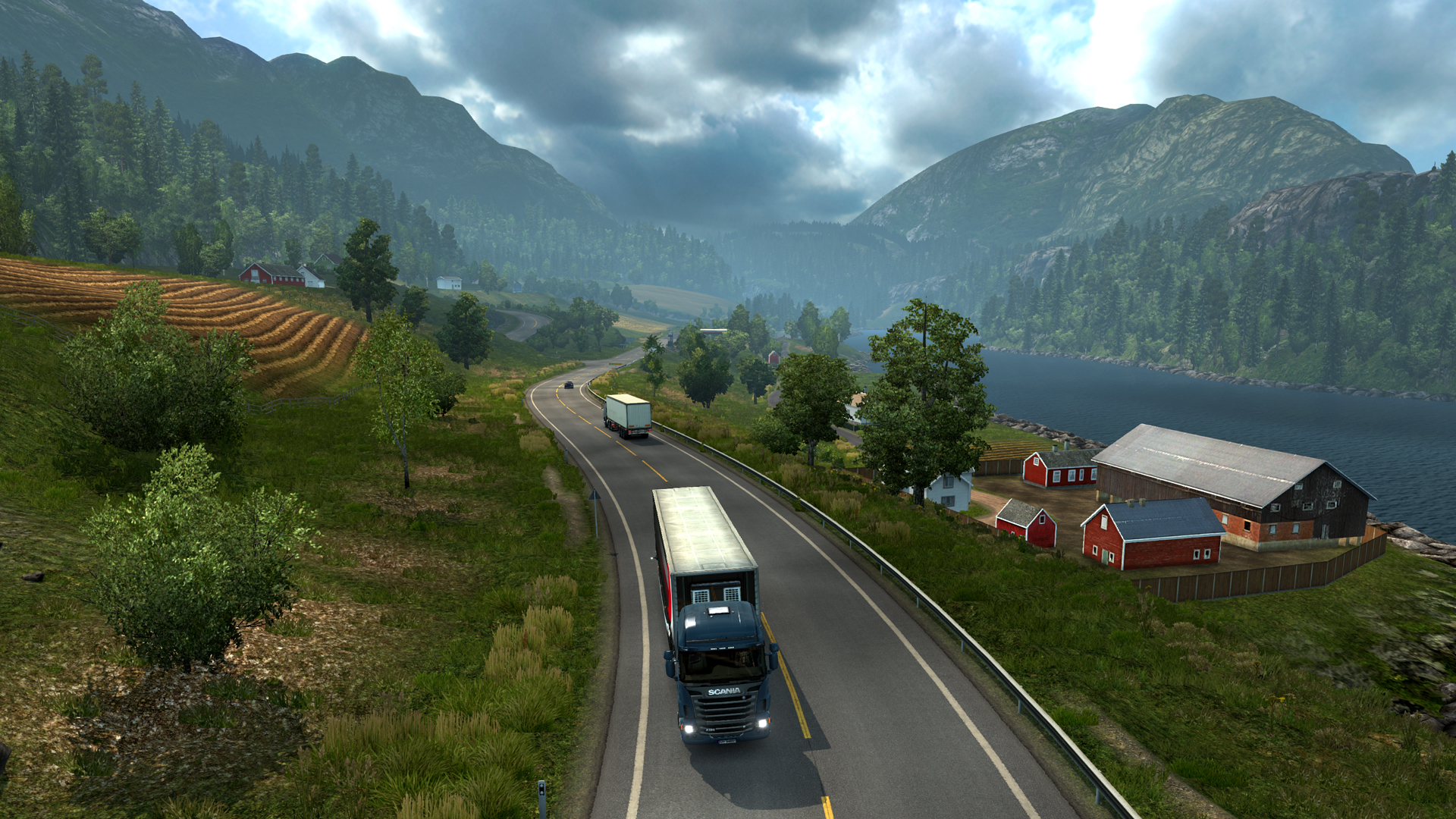 Euro Truck Simulator 2 - Scandinavia screenshot