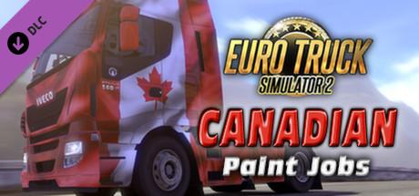 Euro Truck Simulator 2 - Canadian Paint Jobs Pack