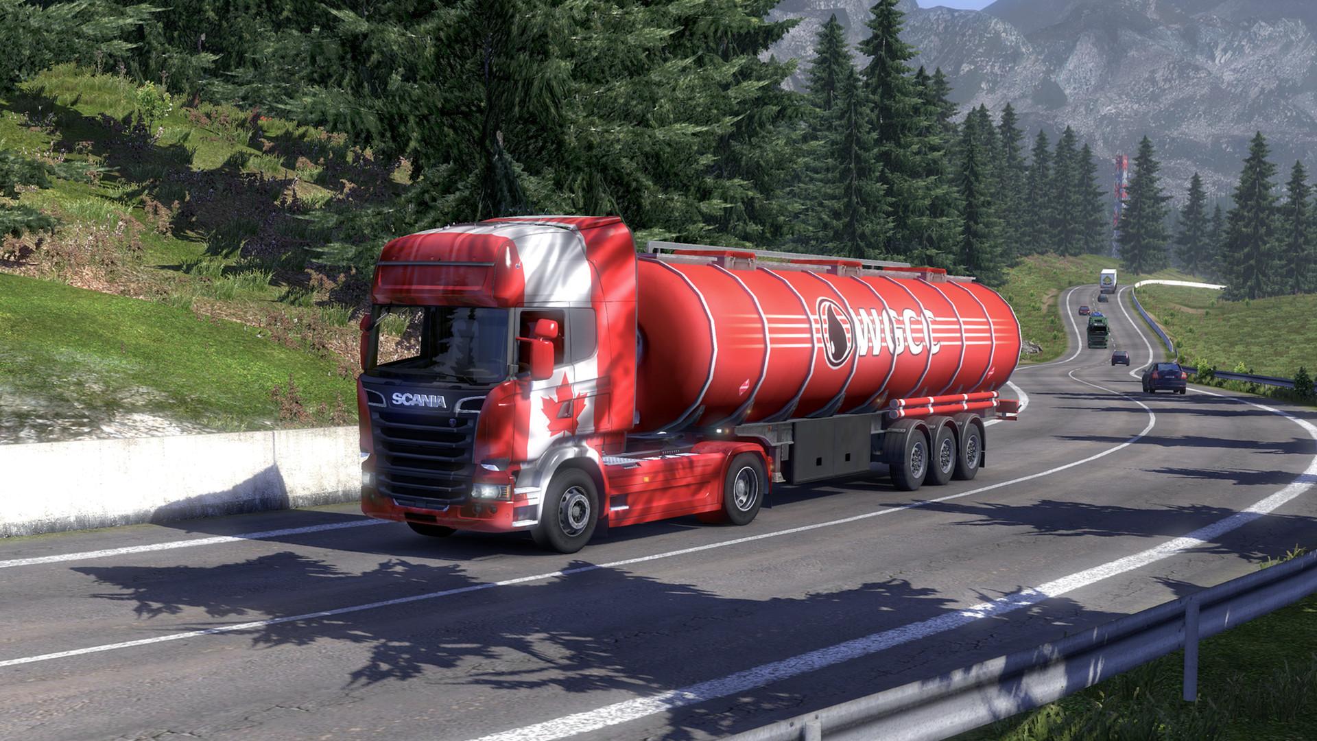 Euro Truck Simulator 2 - Canadian Paint Jobs Pack screenshot