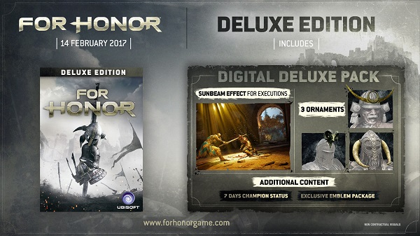 for honor deluxe edition Steam key