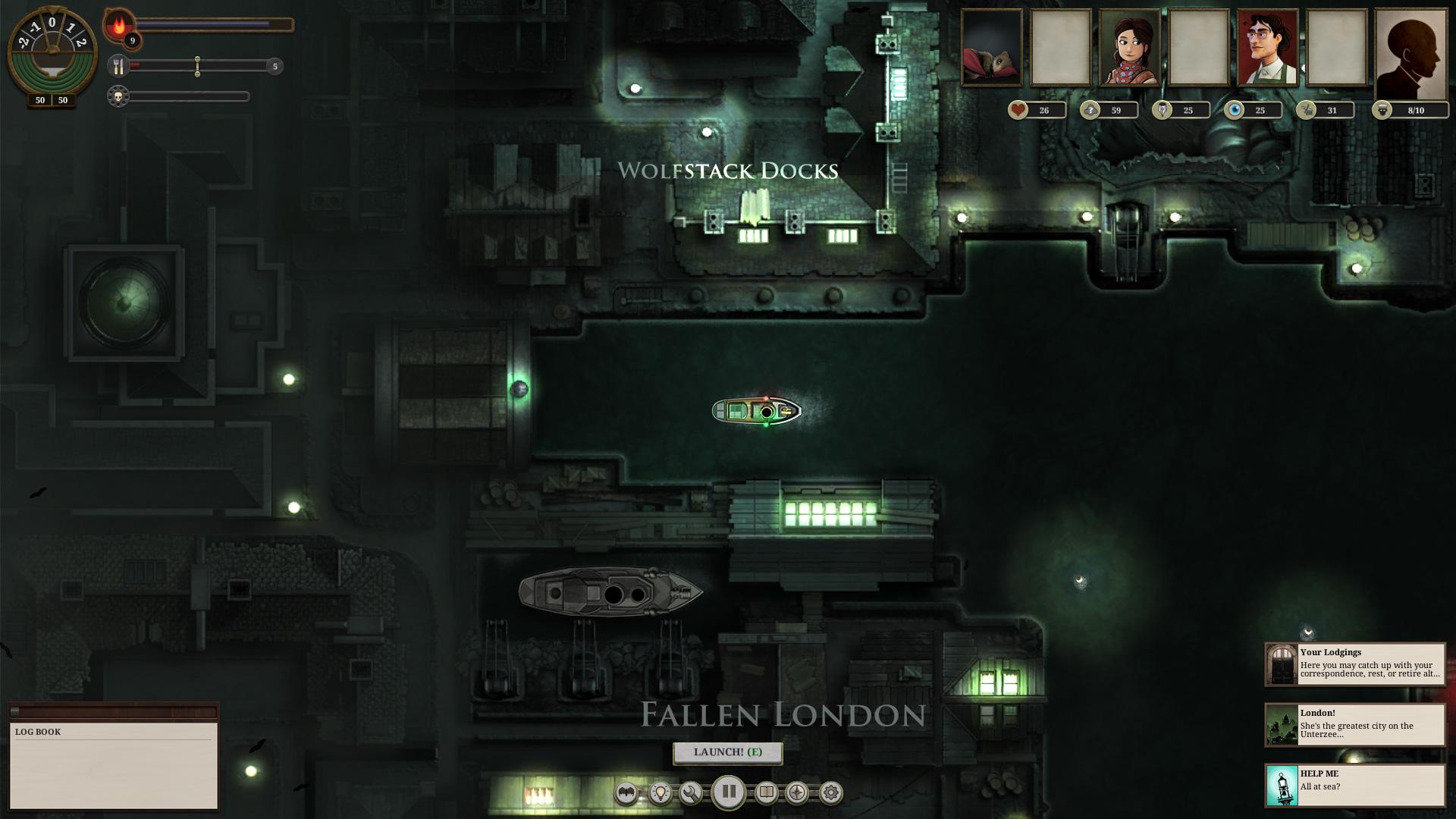 Sunless Sea screenshot 3