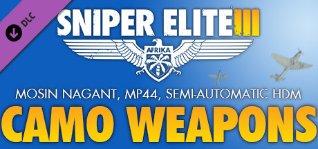 Sniper Elite 3 - Camouflage Weapons Pack