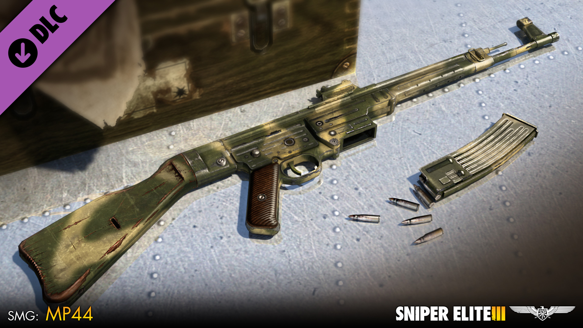 Sniper Elite 3 - Camouflage Weapons Pack screenshot