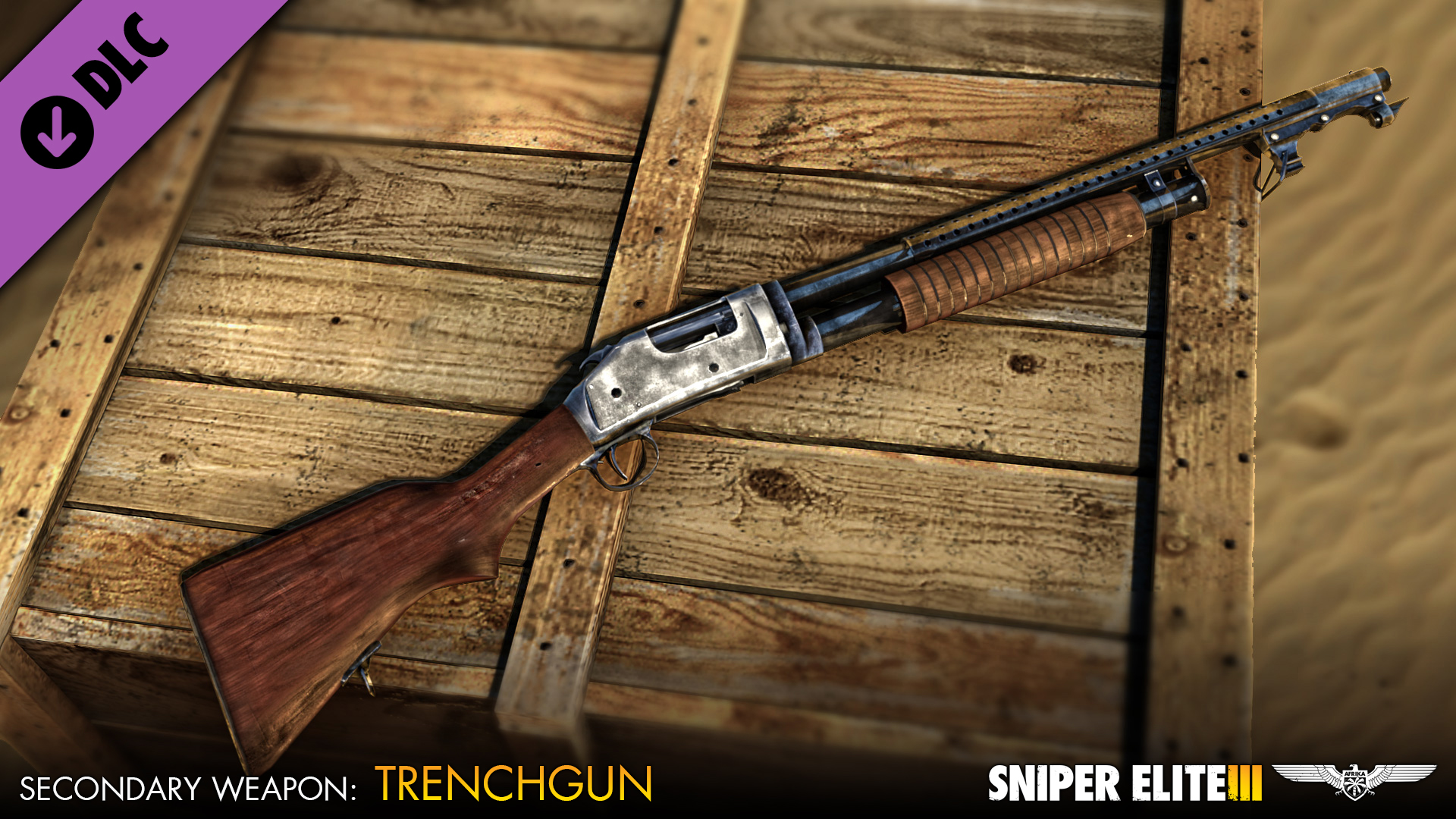 Sniper Elite 3 - Hunter Weapons Pack screenshot