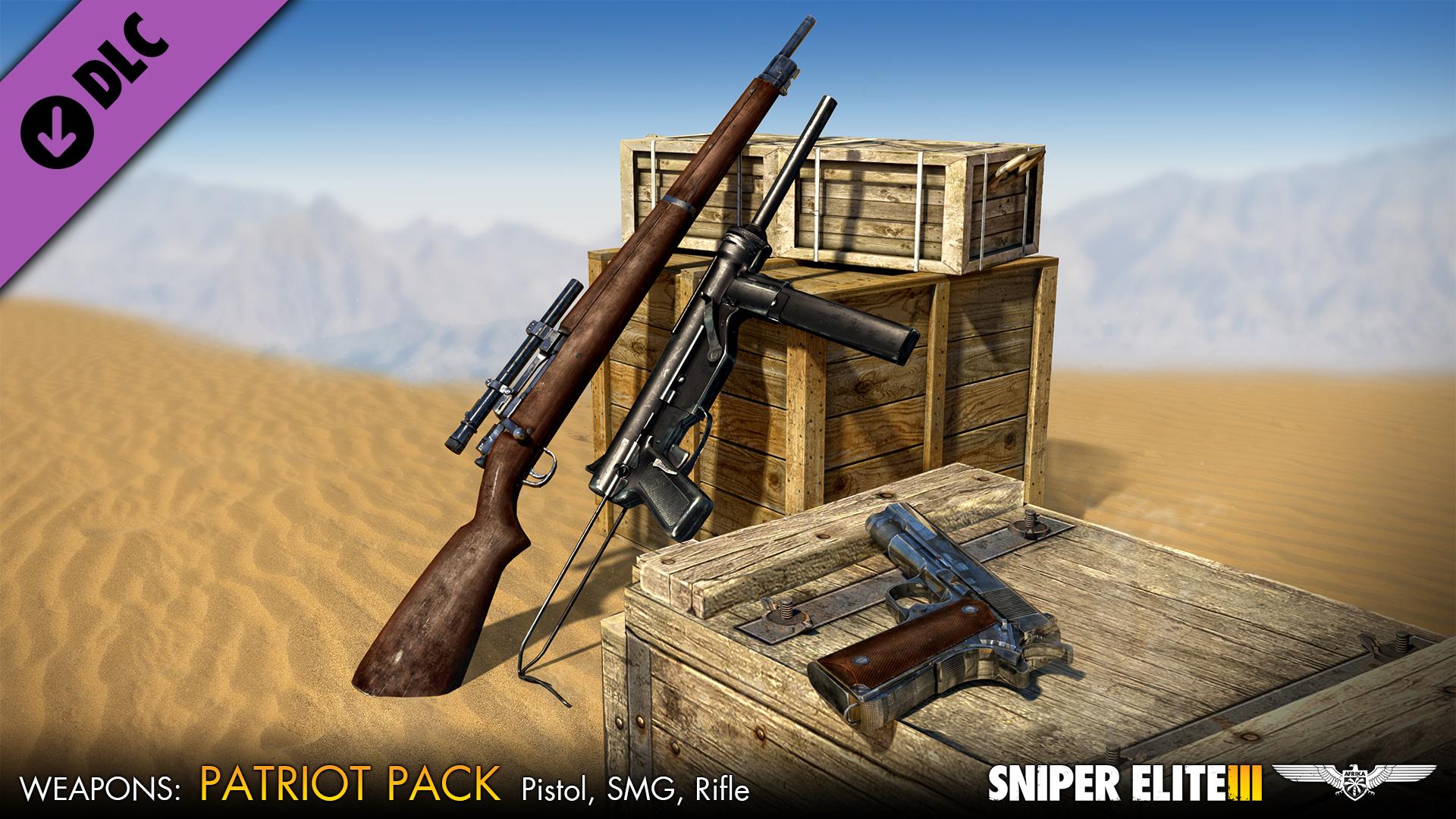 Sniper Elite 3 - Patriot Weapons Pack screenshot