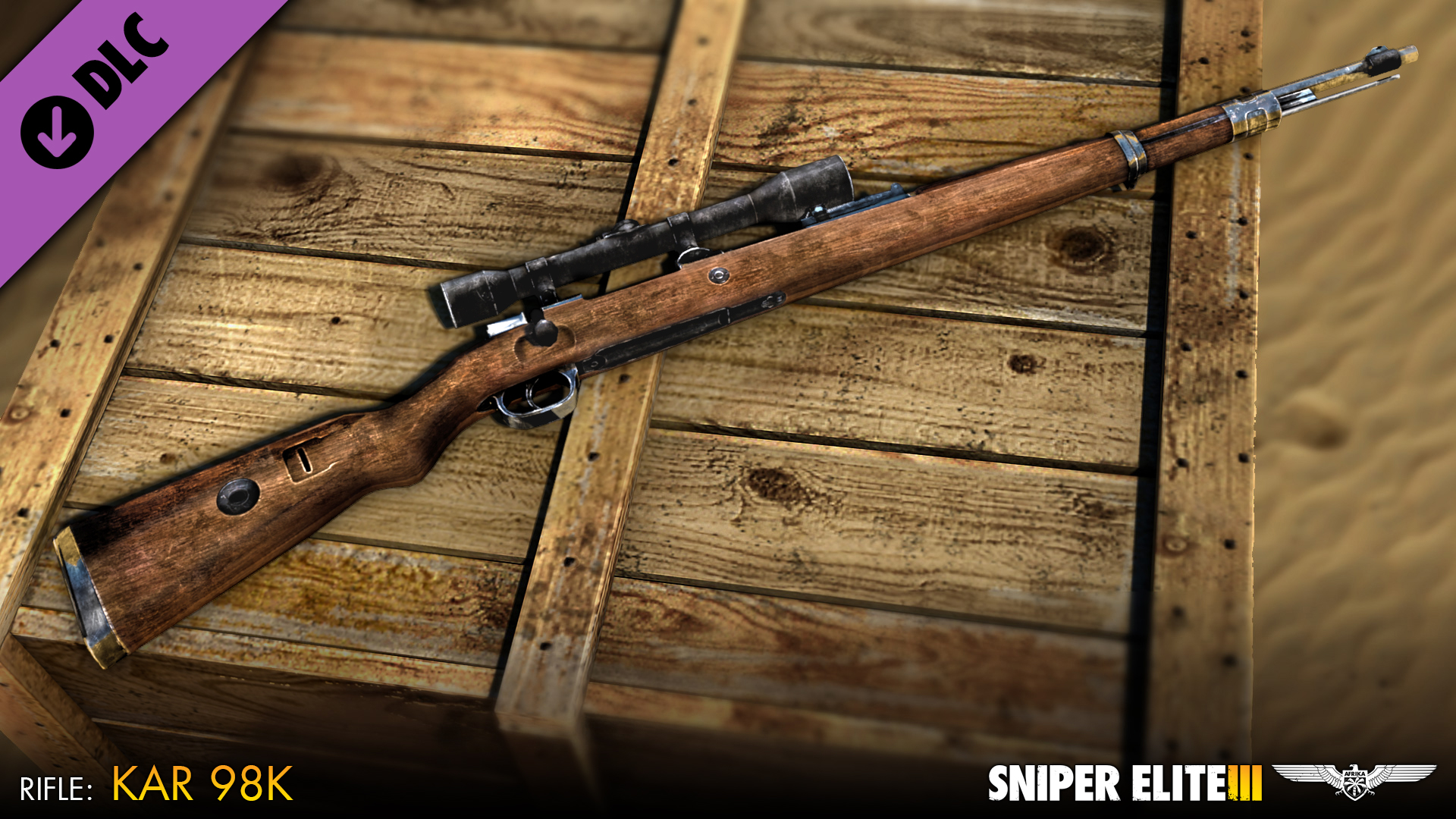 Sniper Elite 3 - Sniper Rifles Pack screenshot
