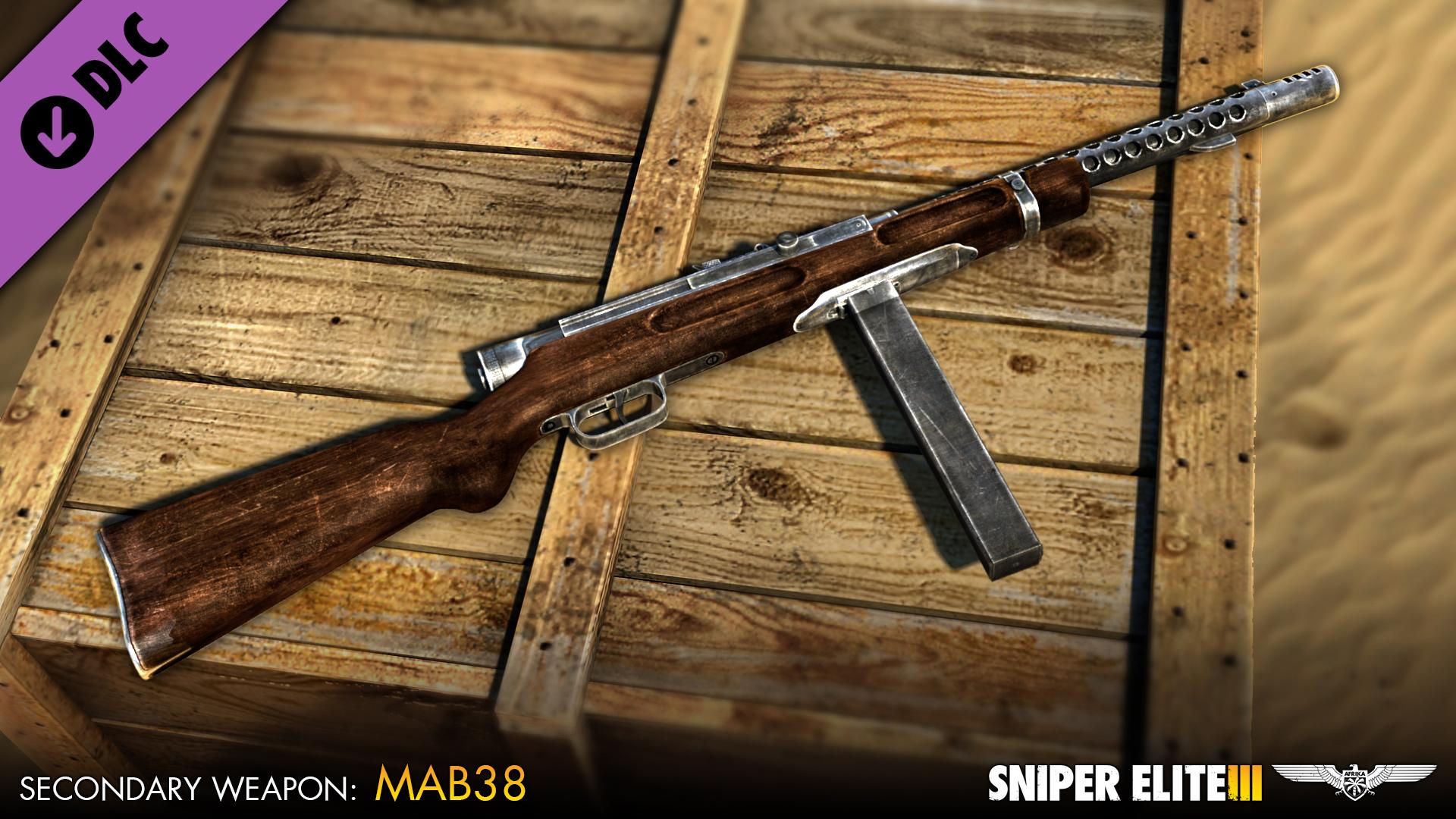 Sniper Elite 3 - Axis Weapons Pack screenshot