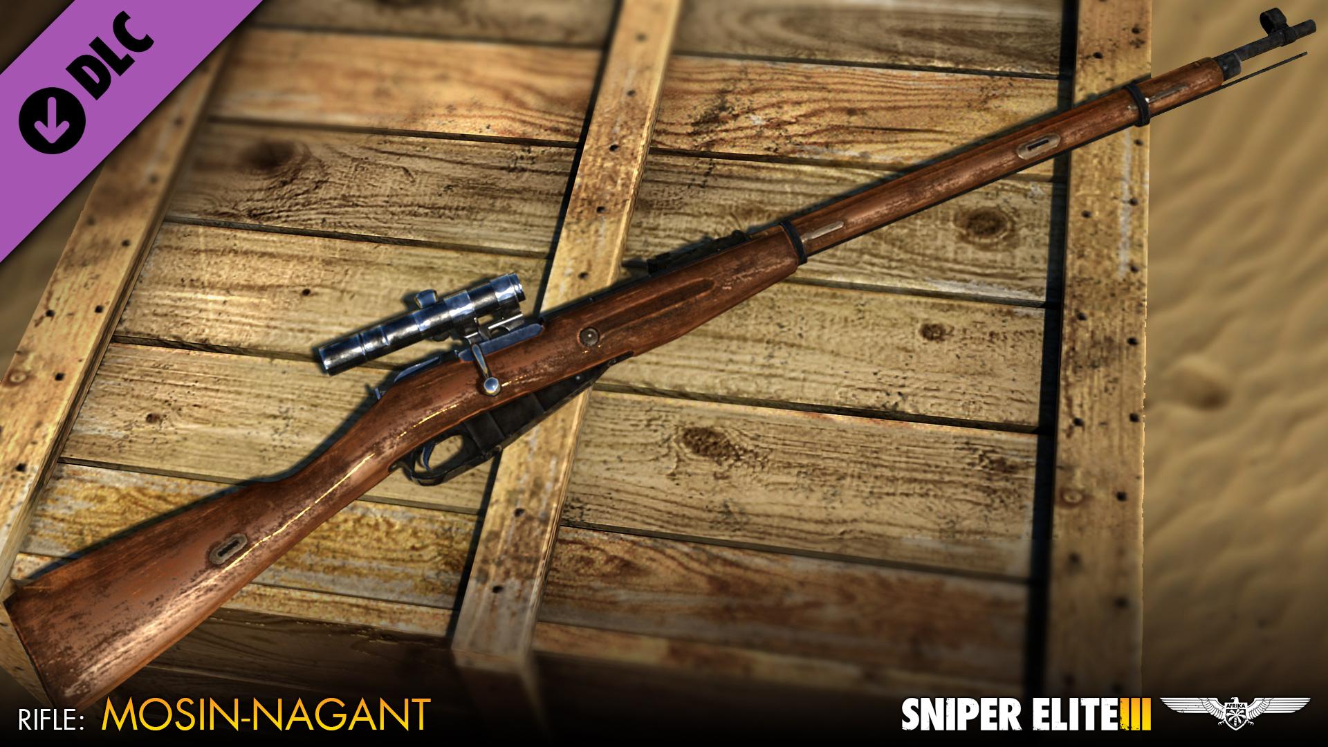Sniper Elite 3 - Eastern Front Weapons Pack screenshot