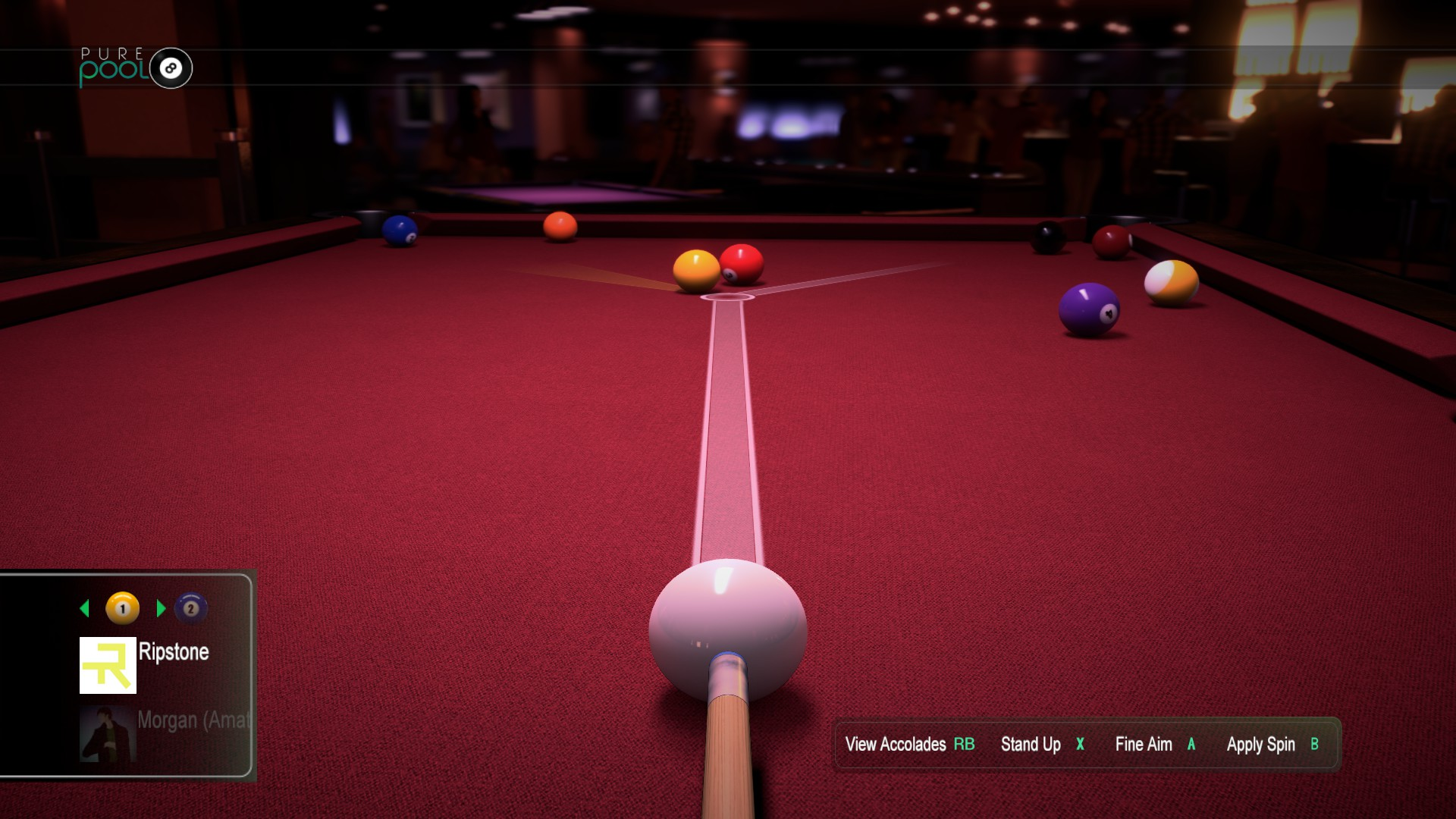 Pure Pool Soundtrack screenshot