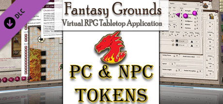 Fantasy Grounds - Gaming Tokens & Portraits Pack #3: PC's & NPCs