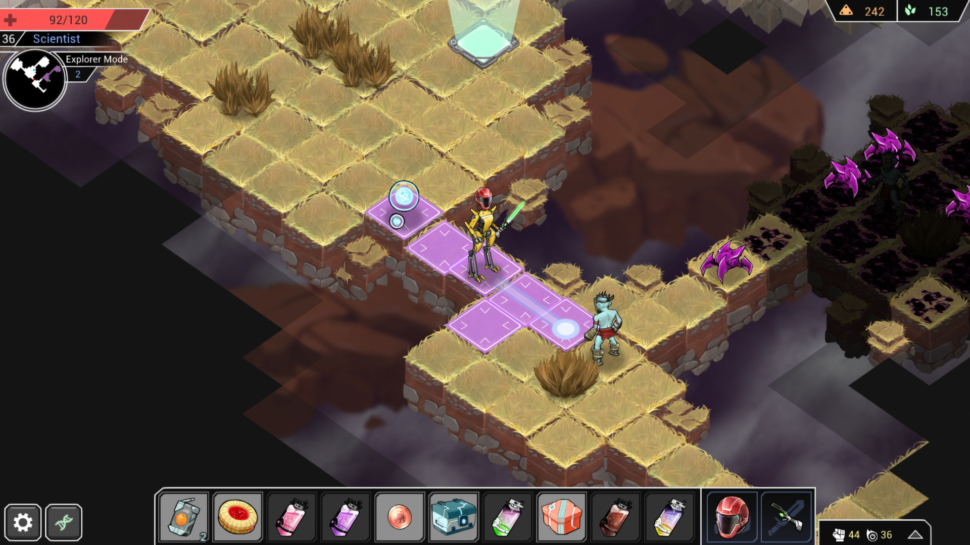 Shattered Planet screenshot