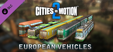 Cities in Motion 2: European Vehicle Pack