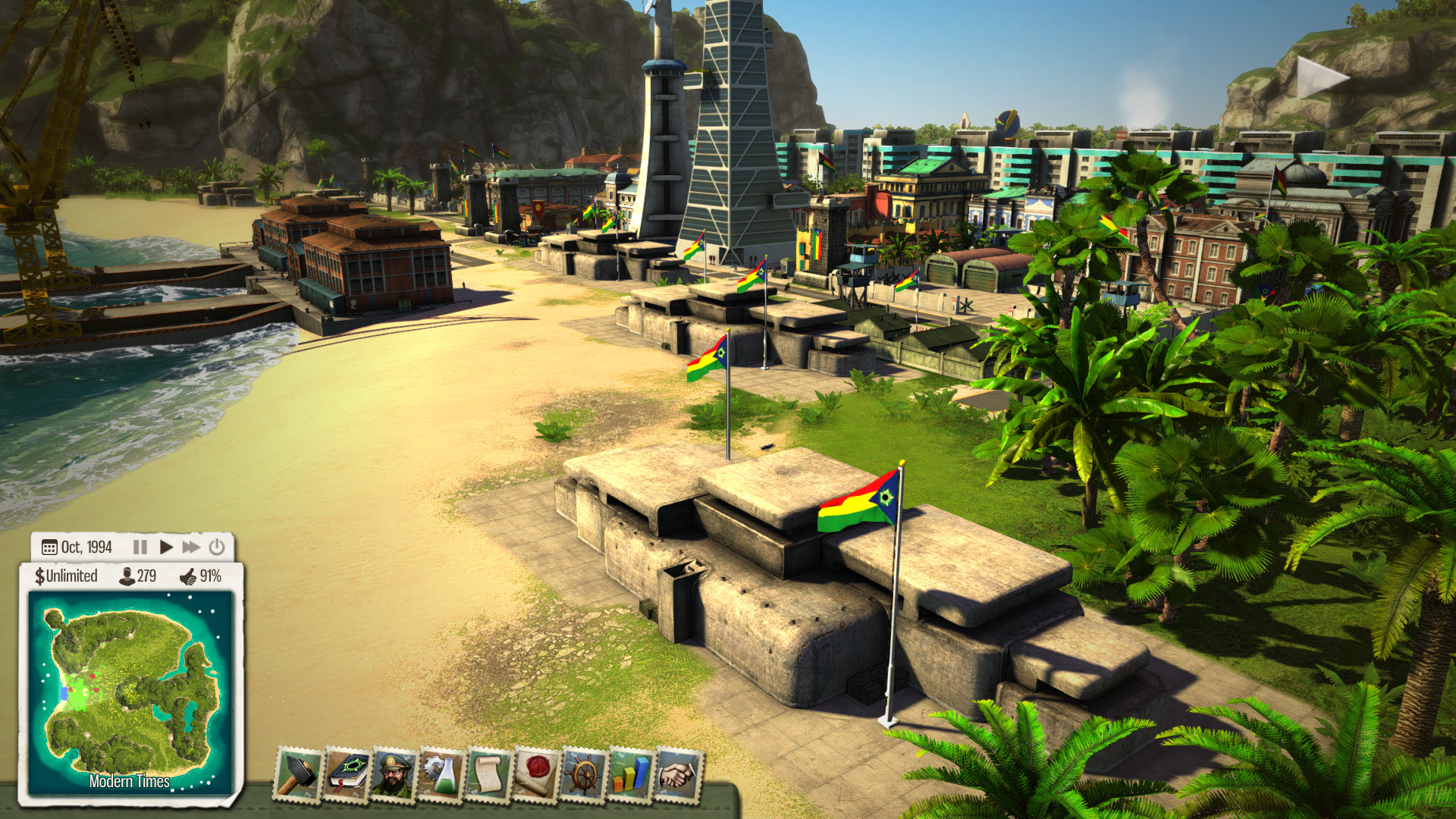 Tropico 5 - T-Day screenshot