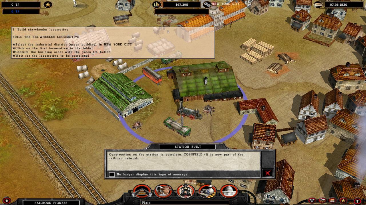 Railroad Pioneer screenshot