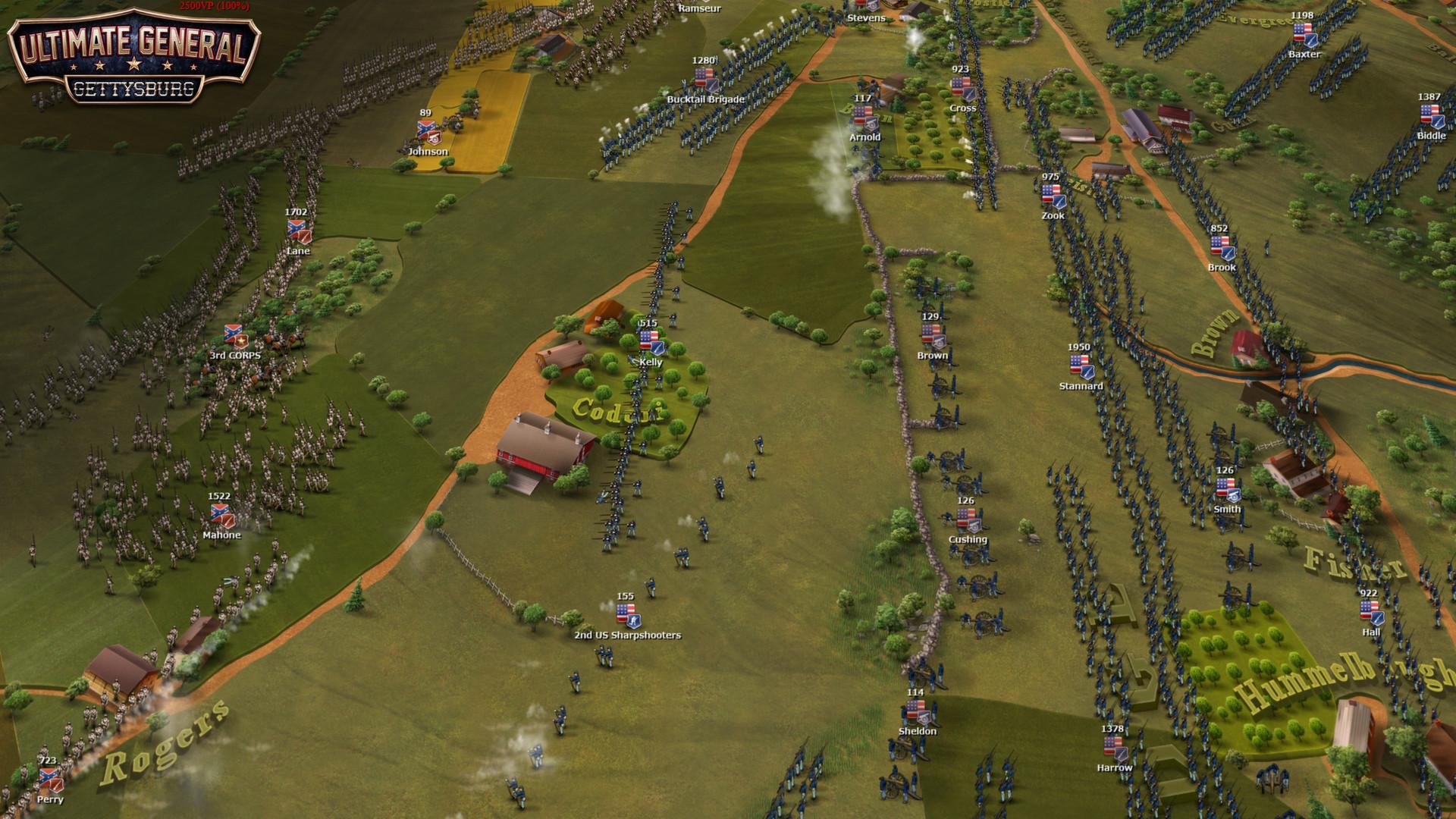 Ultimate General Gettysburg скачать торрент
