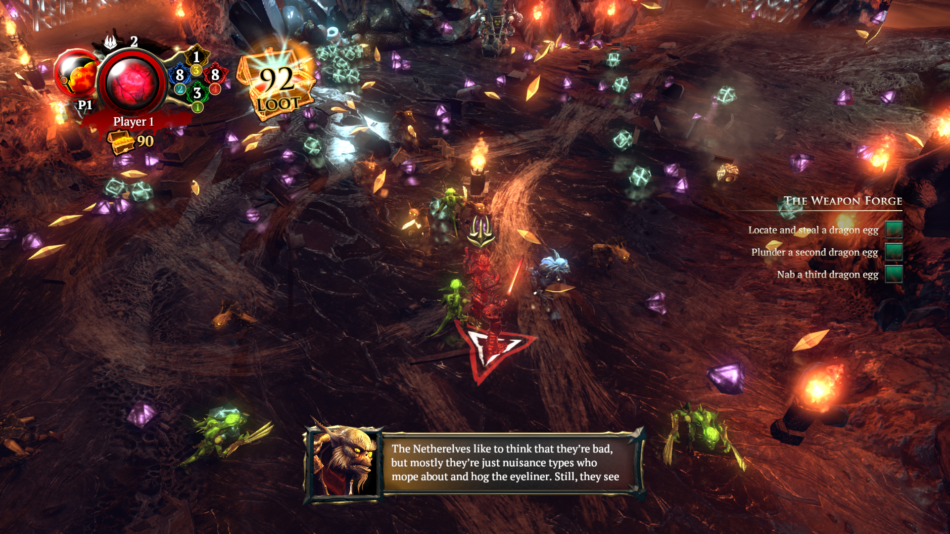 Overlord: Fellowship of Evil screenshot
