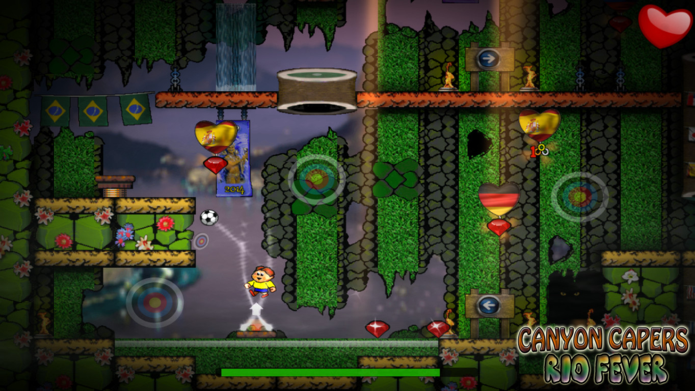 Canyon Capers - Rio Fever screenshot
