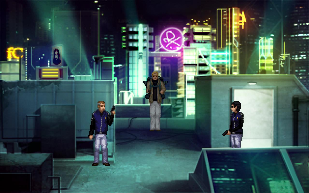 Technobabylon screenshot