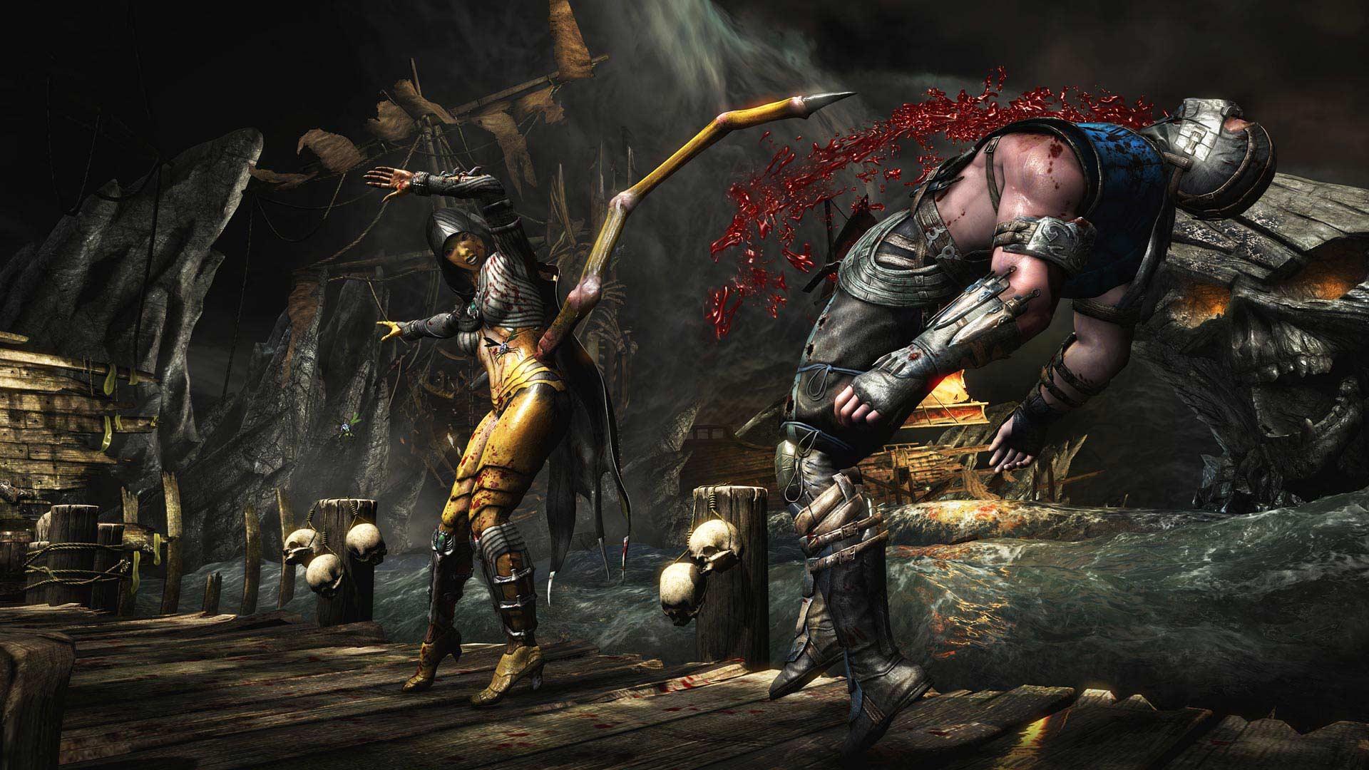 Mortal kombat звуки скачать