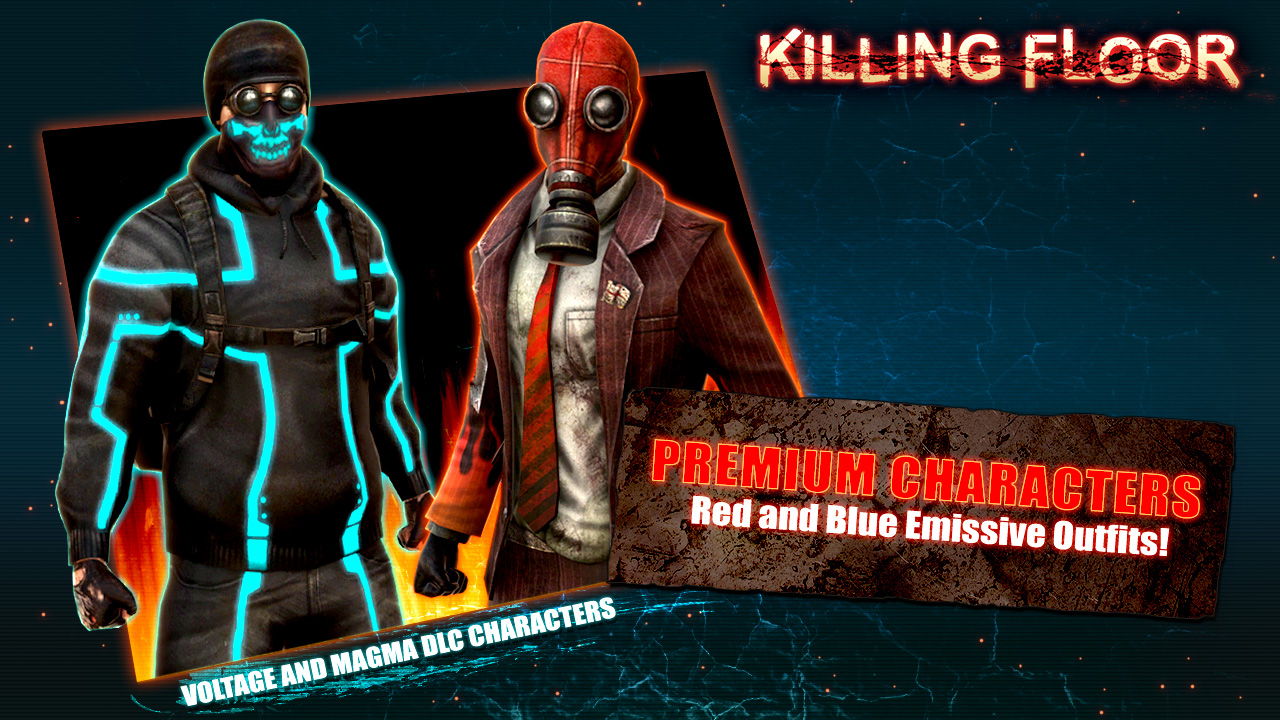 Awesome Killing Floor   Neon Character Pack On Steam