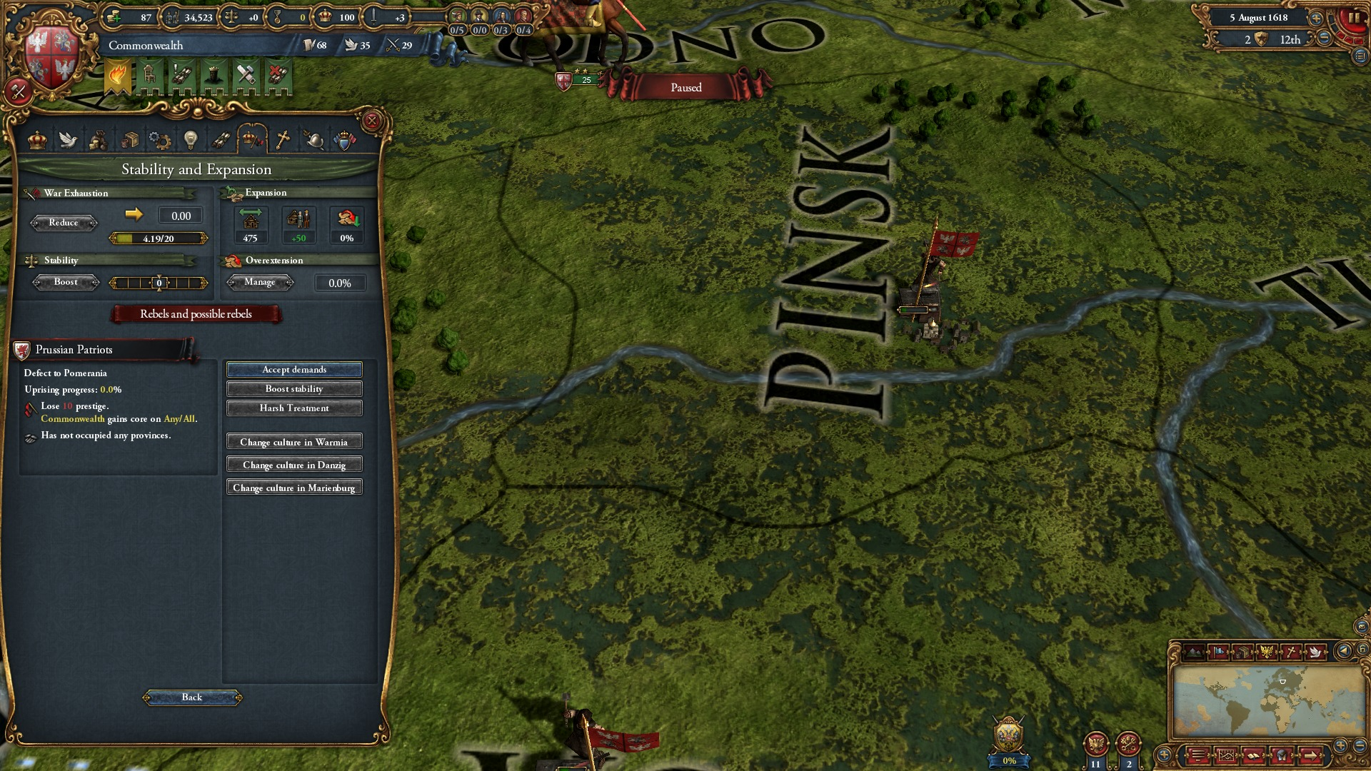 Expansion - Europa Universalis IV: Art of War screenshot