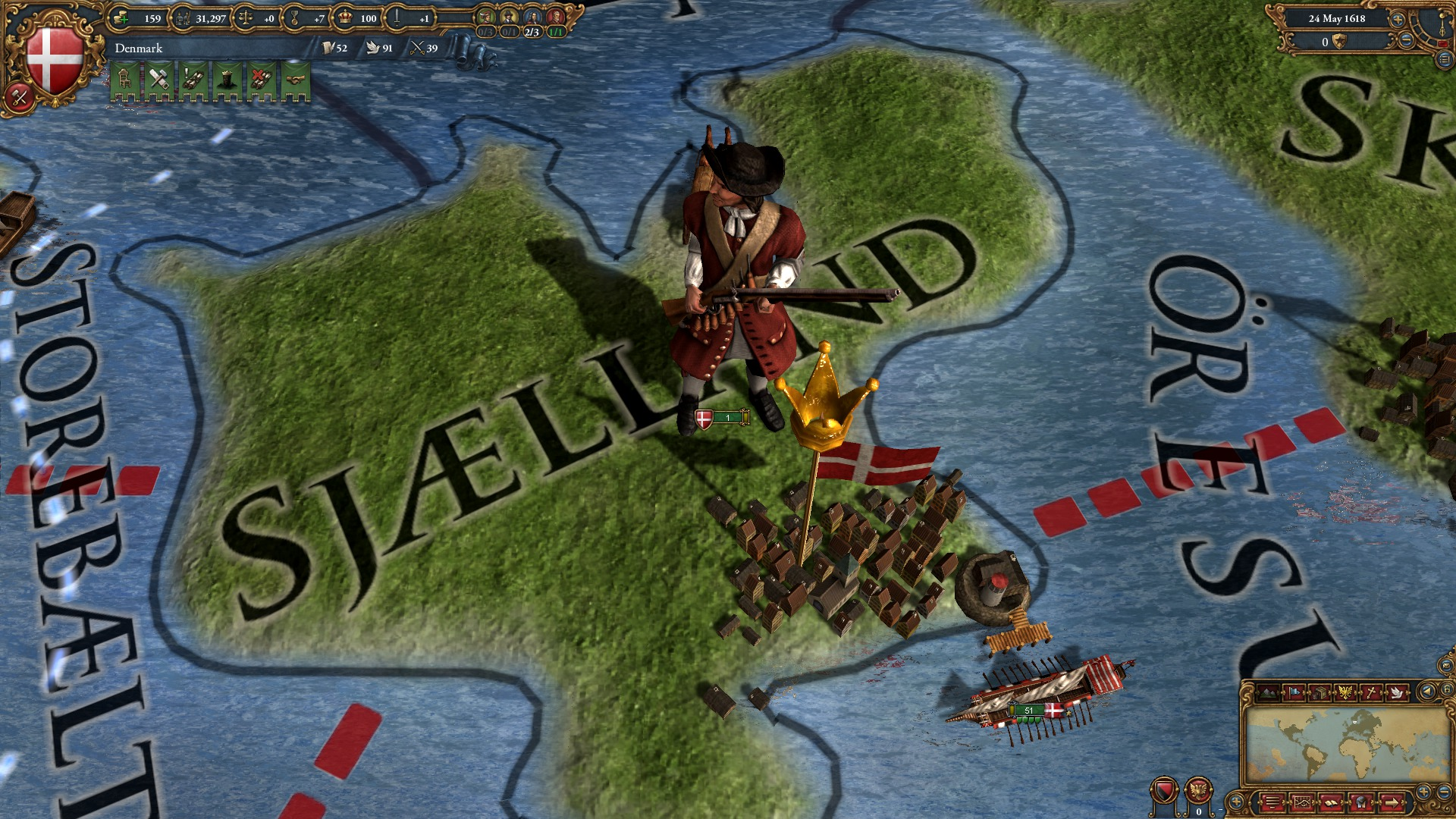 Europa Universalis IV: Evangelical Union Unit Pack screenshot