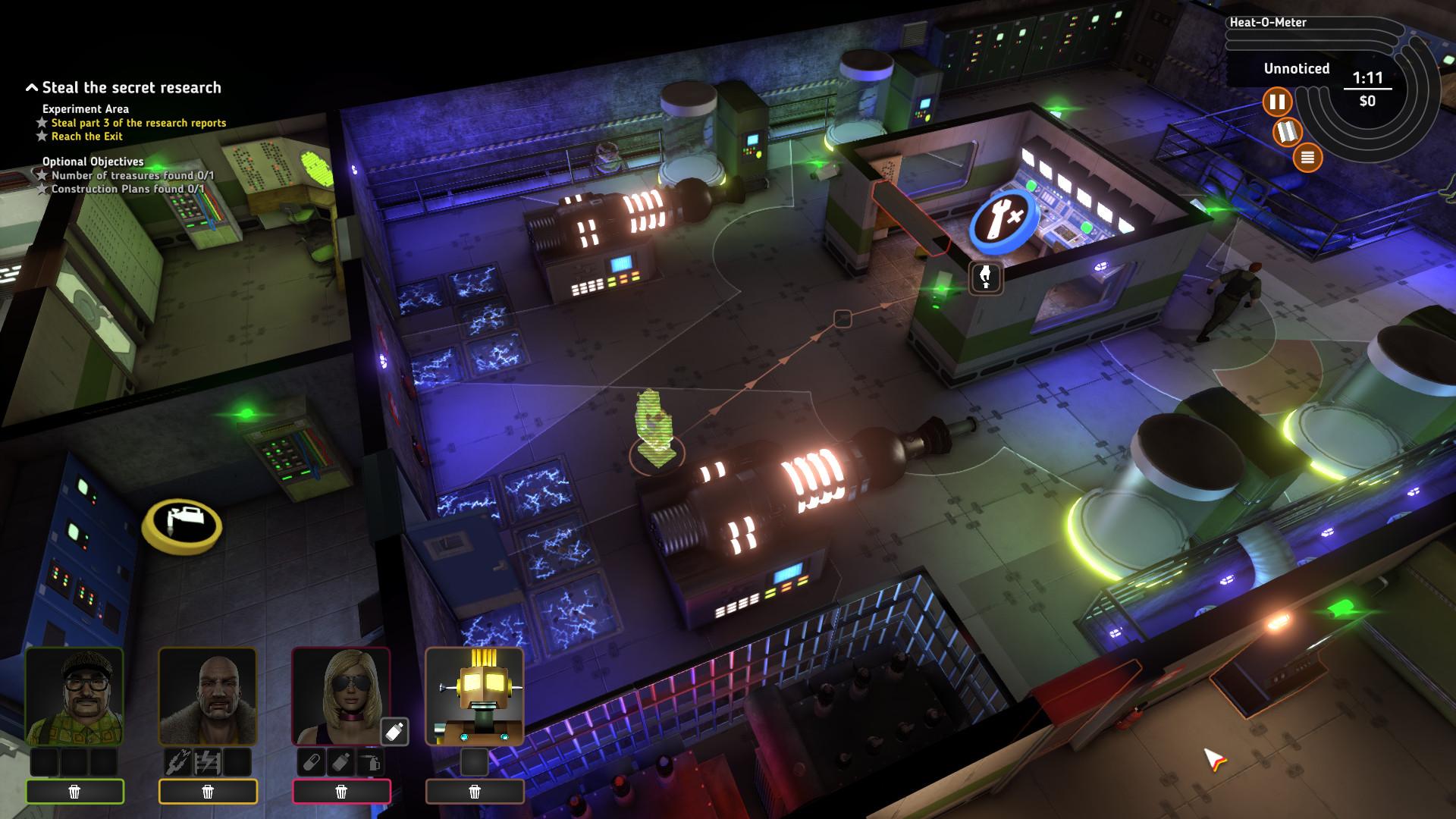 Crookz - The Big Heist screenshot