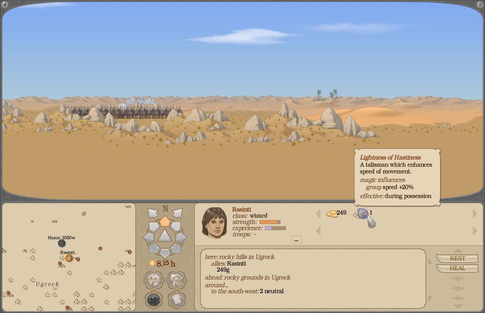 Legions of Ashworld screenshot