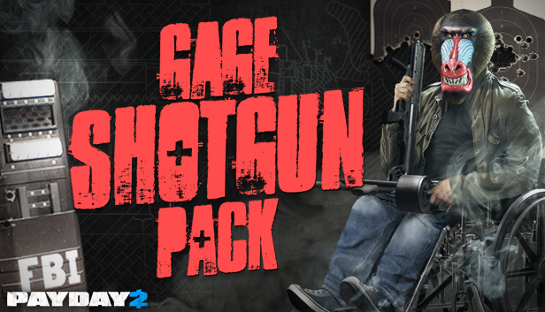 PAYDAY 2: Gage Shotgun Pack