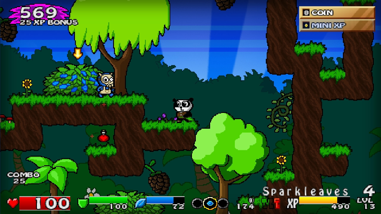 Super Panda Adventures screenshot