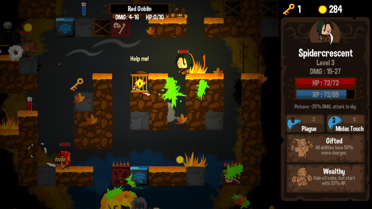 Vertical Drop Heroes HD screenshot 2