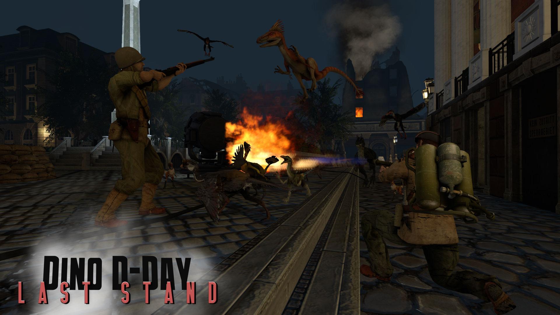 Dino D-Day: Last Stand DLC screenshot