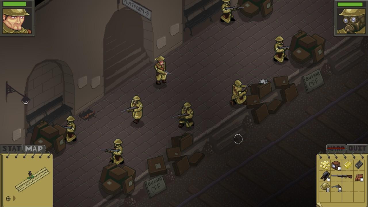 Super Trench Attack! screenshot